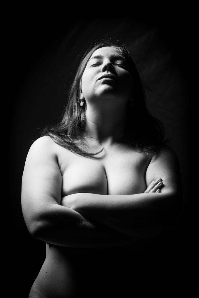 ... blackish portrait I ...