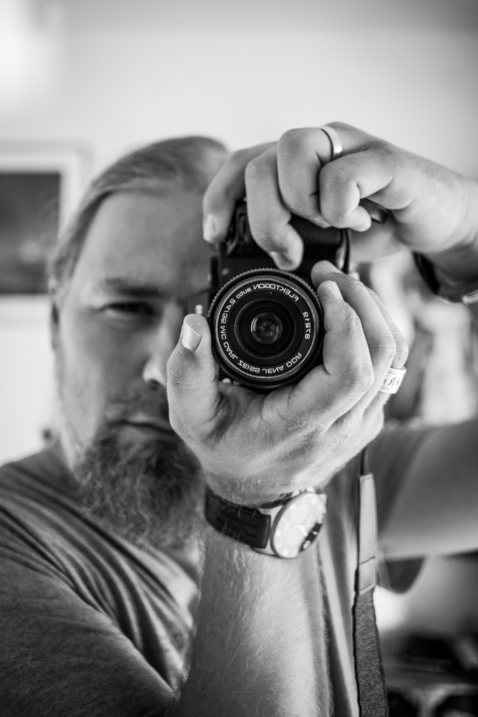 ... me with 35mm  Flektogon ...